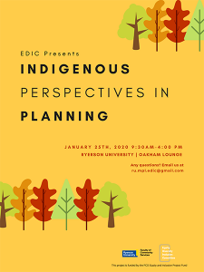 Indigenous Perspectives in Planning